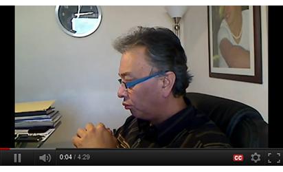 Entrevista a David Peña con motivo del DiMER 2012
