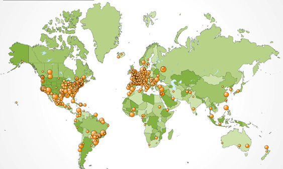 mapa enfermedades