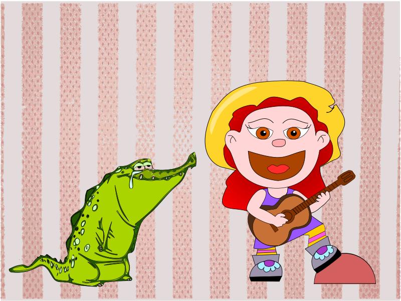 Cuentos de la Abuela Güera: Mi cocodrilo Meno