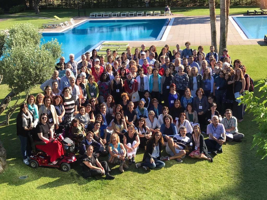 Asistentes a ExpRESS 2017, escuela de verano de EURORDIS