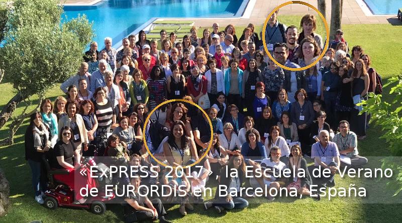 Participó FEMEXER en «ExPRESS 2017», Escuela de Verano EURORDIS en Barcelona