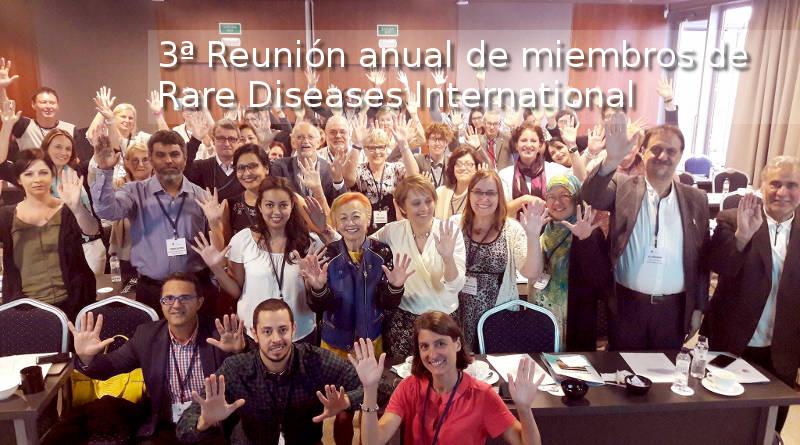 FEMEXER presente en la 3a reunión anual de Rarae Diseases International en Barcelona 2017