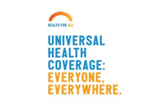 La cobertura universal de la salud es para todos en donde sea