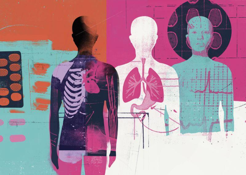 Mujer vivió hasta los 99 años con sus órganos en lugares equivocados