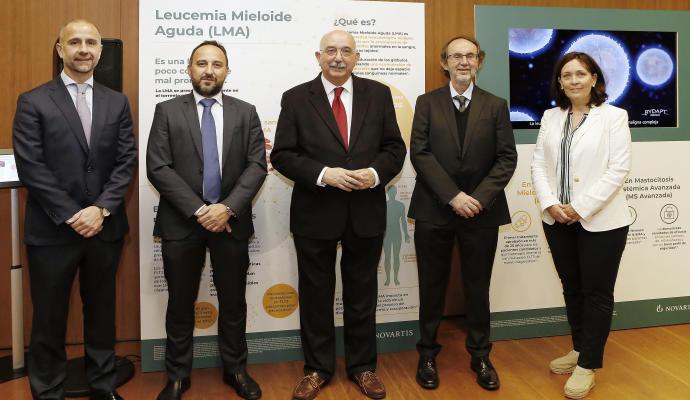 Sanidad da luz verde a una nueva terapia contra la leucemia mieloide aguda