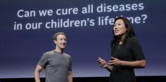 Mark Zuckerberg, Priscilla Chan, donación EERR