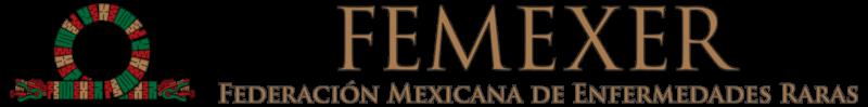 Logo de la Federación Mexicana de Enfermedades Raras (FEMEXER)