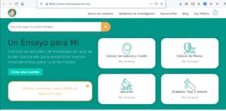 Georgina Sposetti, «Un ensayo para mí». Plataforma web para que los voluntarios puedaqn unirse a protocolos y ensayos clínicos fácilmente