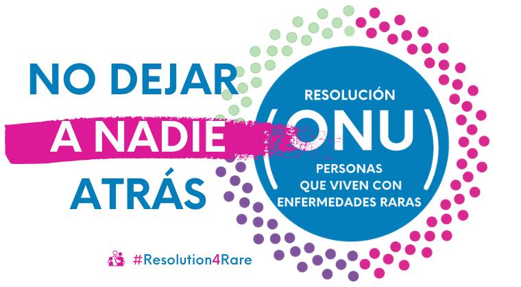 «No dejar a nadie detrás» es nuestro lema para la campaña 2021 «Resolution4Rare», impulsada por RDI