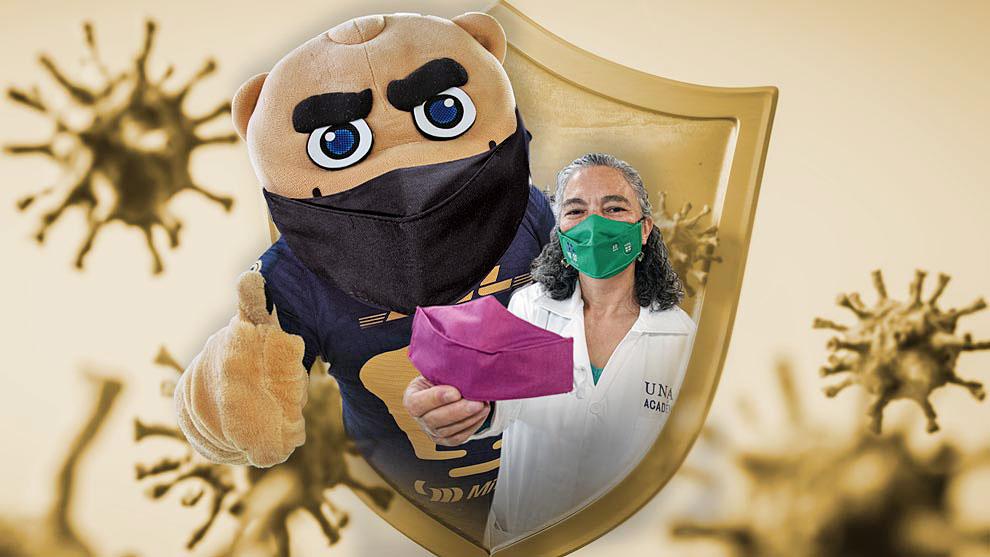 Hecho en CU: cubrebocas antimicrobiano